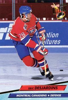 1992-93 Ultra #104 Eric Desjardins Front