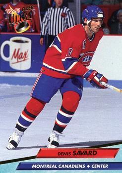 1992-93 Ultra #109 Denis Savard Front