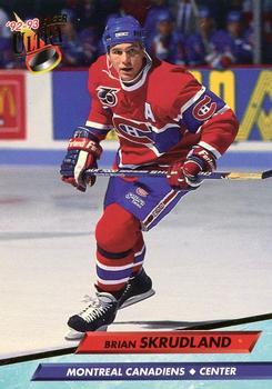 1992-93 Ultra #111 Brian Skrudland Front