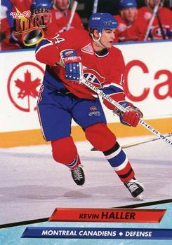 1992-93 Ultra #327 Kevin Haller Front