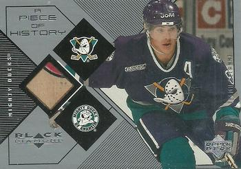 1999-00 Upper Deck Black Diamond - A Piece of History #TS Teemu Selanne Front