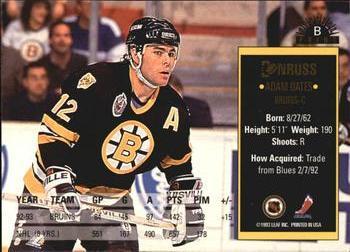 Verzamelkaarten, ruilkaarten 1993-94 Donruss Special Print #C Alexander Mogilny Buffalo Sabres Hockey Card