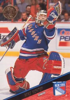 1993-94 Leaf #185 Mike Richter Front