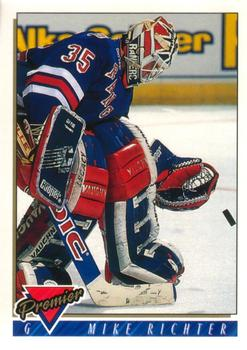 1993-94 O-Pee-Chee Premier #135 Mike Richter Front