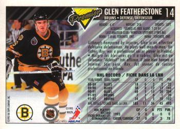 Cam Neely vs. Glen Featherstone, February 23, 1991 ...