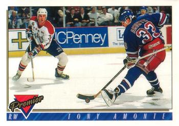 1993-94 O-Pee-Chee Premier #70 Tony Amonte Front