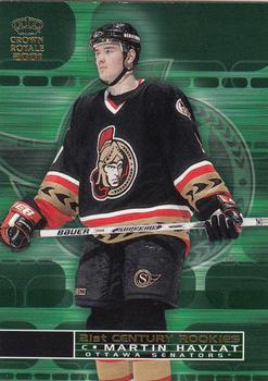 2000-01 Pacific Crown Royale - 21st Century Rookies #17 Martin Havlat Front