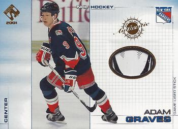 2000-01 Pacific Private Stock - Game Gear #73 Adam Graves Front