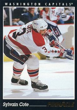 1993-94 Pinnacle #258 Sylvain Cote Front