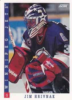 1993-94 Score #201 Jim Hrivnak Front