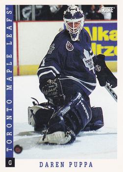 1993-94 Score #273 Daren Puppa Front