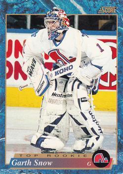 1993-94 Score #628 Garth Snow Front