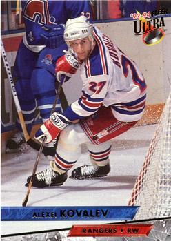 1993-94 Ultra #115 Alex Kovalev Front