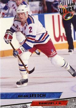 1993-94 Ultra #132 Brian Leetch Front