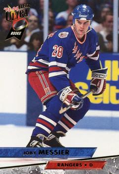 1993-94 Ultra #170 Joby Messier Front