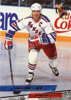 1993-94 Ultra #183 Mark Messier Front