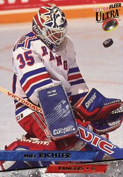 1993-94 Ultra #228 Mike Richter Front