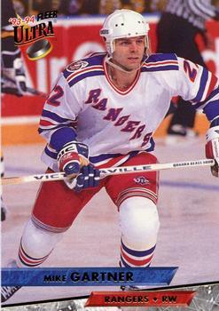 1993-94 Ultra #25 Mike Gartner Front