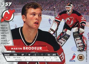 Collection Gallery Pulla73 Martin Brodeur The Trading Card
