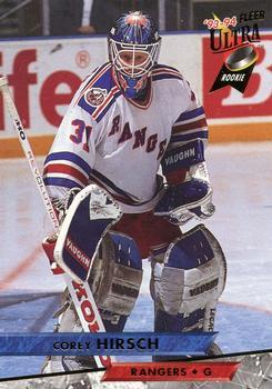 1993-94 Ultra #64 Corey Hirsch Front