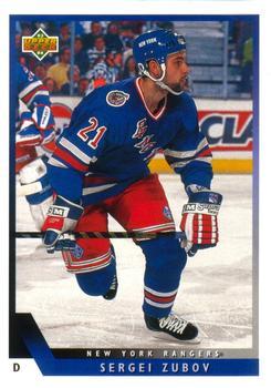 1993-94 Upper Deck #181 Sergei Zubov Front