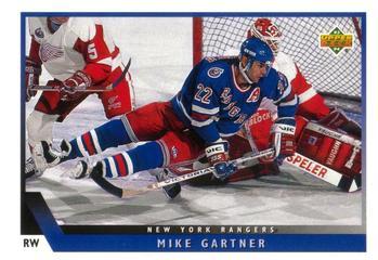 1993-94 Upper Deck #205 Mike Gartner Front