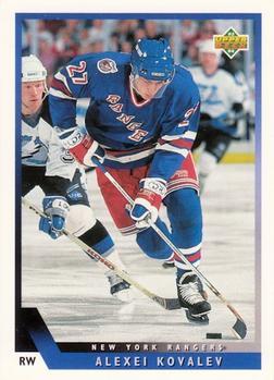 1993-94 Upper Deck #27 Alex Kovalev Front