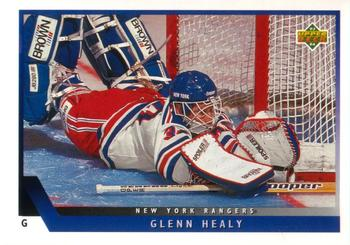 1993-94 Upper Deck #321 Glenn Healy Front