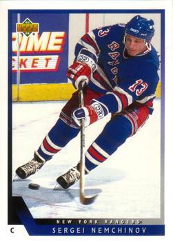 1993-94 Upper Deck #371 Sergei Nemchinov Front
