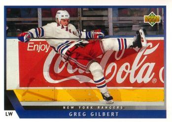 1993-94 Upper Deck #404 Greg Gilbert Front
