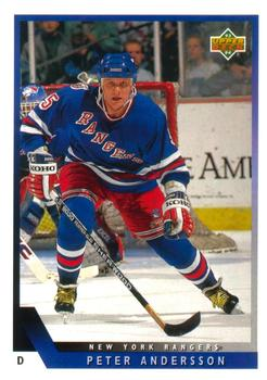 1993-94 Upper Deck #71 Peter Andersson Front