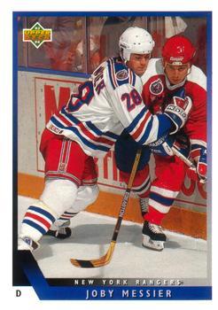 1993-94 Upper Deck #73 Joby Messier Front