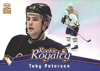 2001-02 Pacific Crown Royale - Rookie Royalty #18 Toby Petersen Front