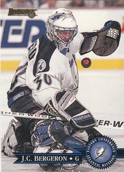 1995-96 Donruss #241 Jean-Claude Bergeron Front