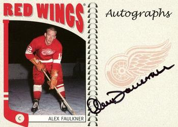 2004-05 In The Game Franchises US West - Autographs #A-AF Alex Faulkner Front