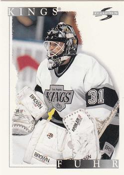 1995-96 Score #228 Grant Fuhr Front