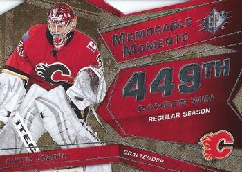 2008-09 SPx - Memorable Moments #MMCJ Curtis Joseph  Front