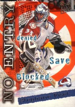1995-96 Ultra #369 Stephane Fiset Front
