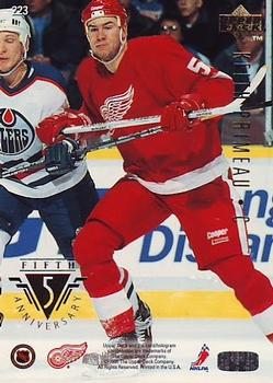 1995-96 Upper Deck #223 Keith Primeau Back