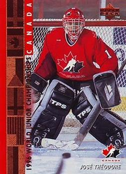 1995-96 Upper Deck #530 Jose Theodore Front