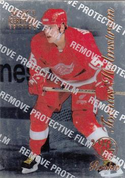 1996-97 Select Certified #97 Tomas Holmstrom Front