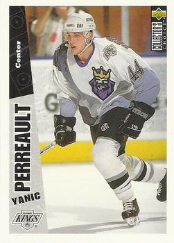 1996-97 Collector's Choice #126 Yanic Perreault Front