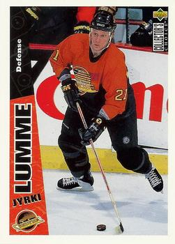 1996-97 Collector's Choice #269 Jyrki Lumme Front