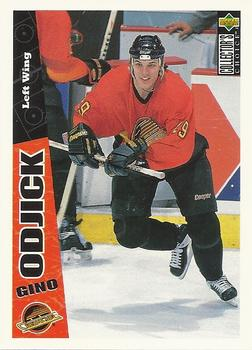 1996-97 Collector's Choice #274 Gino Odjick Front
