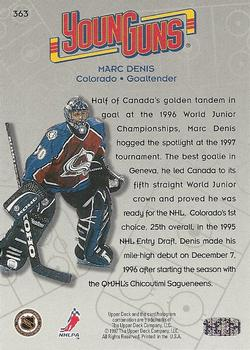 1996-97 Collector's Choice #363 Marc Denis Back