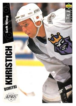 1996-97 Collector's Choice #123 Dmitri Khristich Front