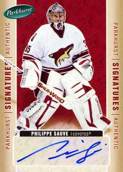 2005-06 Parkhurst - Signatures #PS Philippe Sauve Front