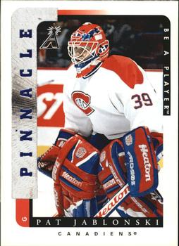 1996-97 Pinnacle Be a Player #99 Pat Jablonski Front