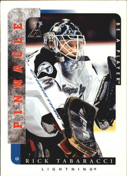 1996-97 Pinnacle Be a Player #164 Rick Tabaracci Front