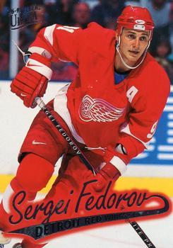 1996-97 Ultra #50 Sergei Fedorov Front